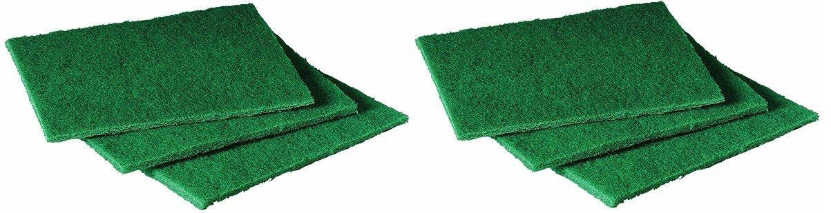 Scotch-Brite 105 General Purpose Scouring Pad, 6'' Length x 4-1/2'' Width, Green (Case of 40) (2-Case of 40))