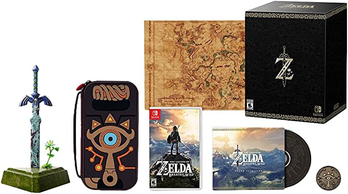 Nintendo The Legend of Zelda: Breath of the Wild Master Edition ...