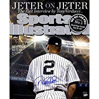 DEREK JETER AUTOGRAPHED FAREWELL SPORTS ILLUSTRATED MAGAZINE 9/29/14