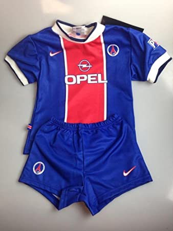 sports shoes e80fb a3970 Nike Paris Saint Germain PSG blue red football minikit shirt ...