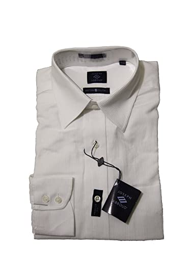 233947864ff3 Joseph Abboud White Dress Shirt - Profile Fit (Small) at Amazon ...