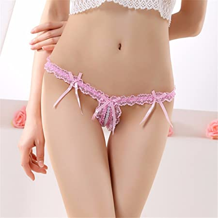 965 Women s Black Thong Lingerie Lace G-String Knickers T-Back Panties Sexy  And c4229249d