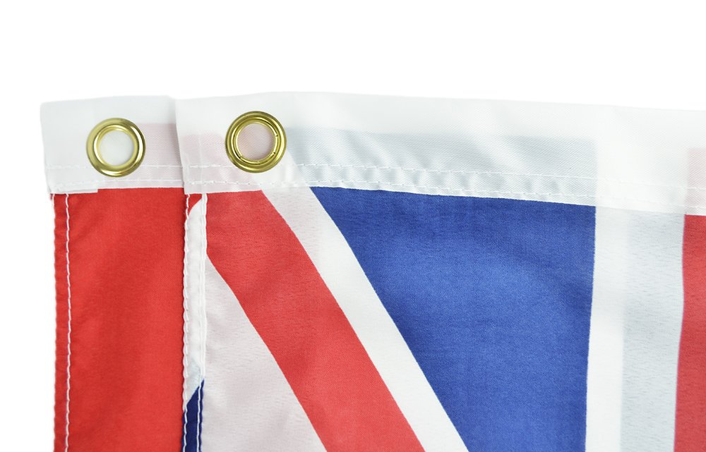 Canvas Header Brass Grommets Double Stitched from Wind Side 3x5 Flag from Sturdy 100D Polyester Shop72 US Alabama State Flags Alabama Flag
