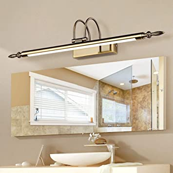 Amazoncom Xqy Led Mirror Front Light Retro Bathroom Lamps