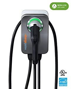ChargePoint Home Flex Electric Vehicle (EV) Charger upto 50 Amp, 240V, Level 2 WiFi Enabled EVSE, UL Listed, Energy Star, NEMA 6-50 Plug or Hardwired, Indoor/Outdoor, 23-Foot Cable