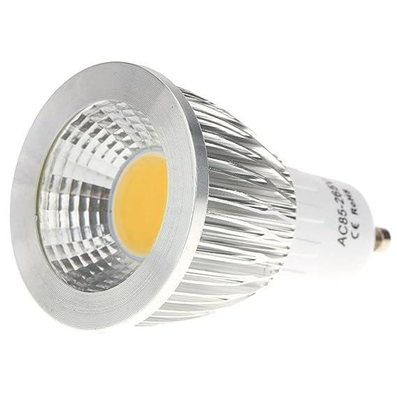 Gaoominy GU10 7W COB LED Luces del bulbo Lampara Bombilla de ...