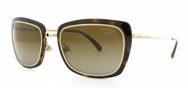 Gafas de Sol Chanel CH4203 PALE GOLD-HAVANA/ POLAR BROWN ...