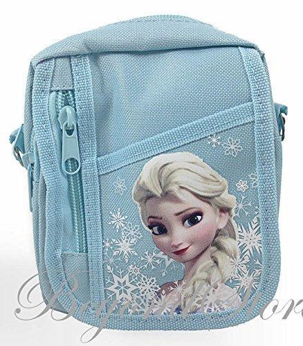 Disney Frozen Baby Blue Camera Bag Case Red Bag Handbag by Beyondstore -