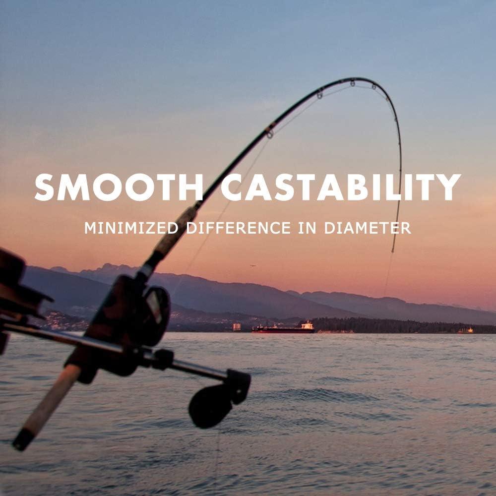 110-300 Yards , 6lb-22lb Super Abriebfestigkeit Low Stretch Easy Casting Angelschnur Serie. SAPLIZE Fluorocarbon Coated Fishing Line