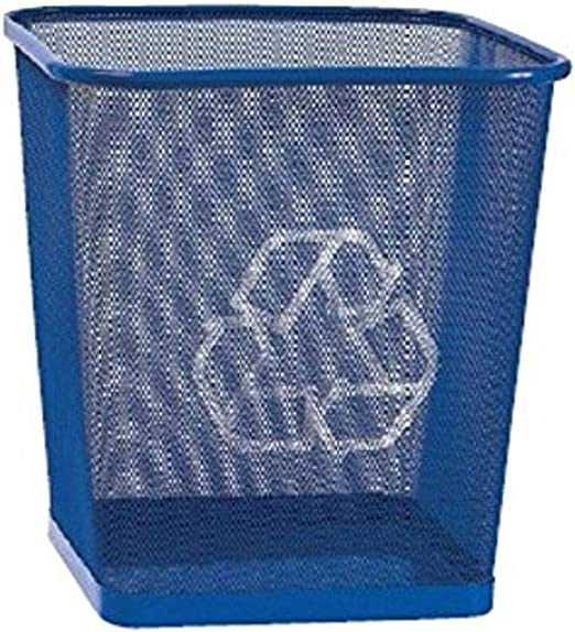 1025-5080-50-000 Merangue Recycling Bin Blue