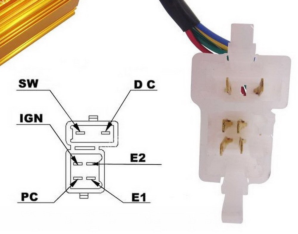 Chinese Scooter Dc Cdi Wiring Diagram - Wiring Diagrams List on