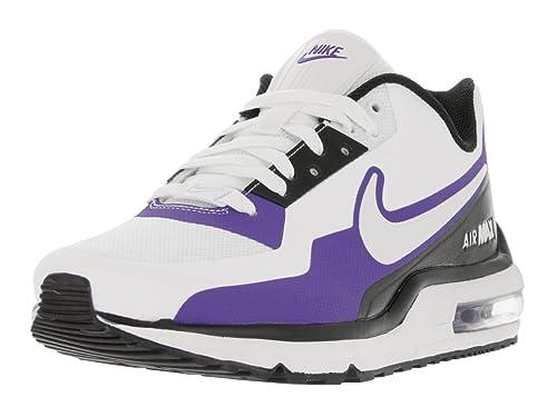 b6f5bb0905 NIKE Men's Air Max LTD 3 Mod White/White/Black/PRSN Violet Running Shoe 11  Men US: Buy Online at Low Prices in India - Amazon.in