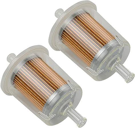 amazon.com : (pack of 2) inline diesel gasoline fuel filter for 12581-43012  bx25 bx22 bx1850 bx23d bx24d bx1870 bx1860 bx1830d bx1800d bx1500d bx2200d  bx2230d bx2350d lawn mower : garden & outdoor  amazon.com