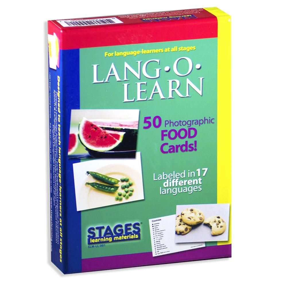 Carte linguaggio - cibo Stages Publishing SLM-LL-001