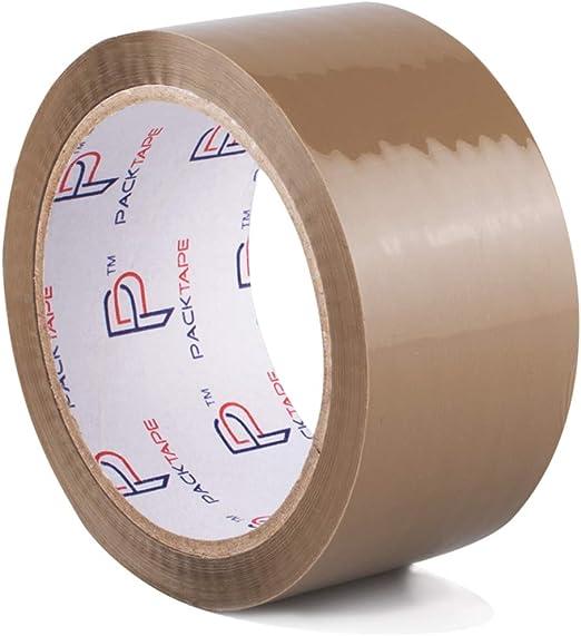 EUR 0,03 // m 1 Rolle Klebeband Paketband Packband 50m X 48mm braun