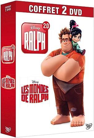 Coffret 2 DVD : Ralph + Raplh 2.0