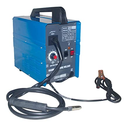 Chicago Electric Mig 100 Welding 110V 90AMP Flux Wire Welder ... on