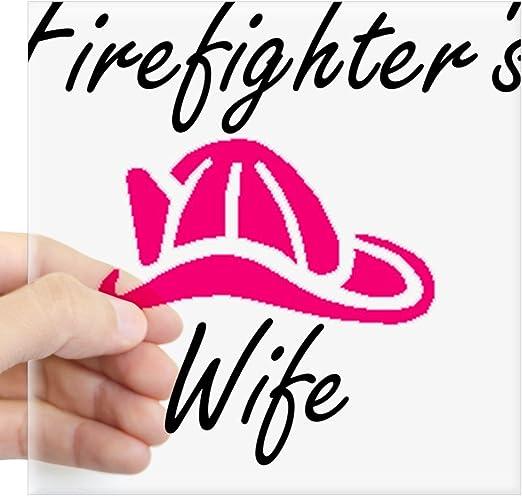 "FIREFIGHTER/'S WIFE Window Sticker Decal 5/"""