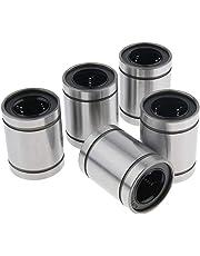 B Blesiya Linear Motion Ball Bushing Bearing 3mm to 20mm - LM20UU 5PCS