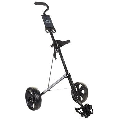 6a01f5ccf74 Slazenger Unisex Steel Golf Trolley Black: Amazon.co.uk: Clothing