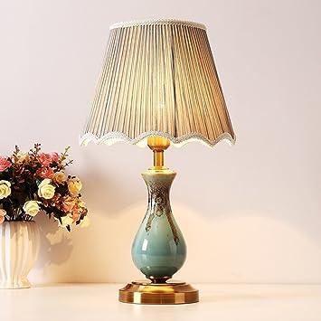 MOMO American Modern Simple Style Tischlampe, Wohnzimmer ...