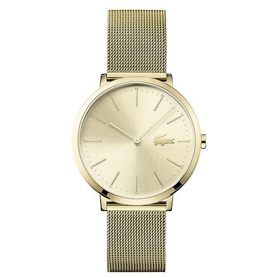 Lacoste Reloj Análogo clásico para Mujer de Cuarzo con ...