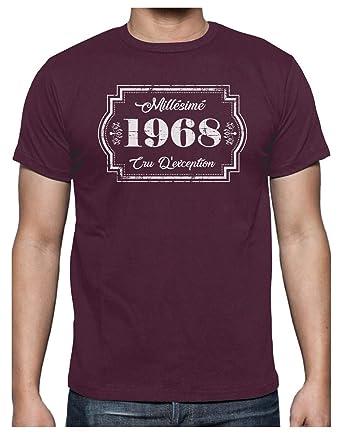 Green Turtle T-Shirts Millesimé 1968 cru d éxception - Anniversaire T-Shirt 3876abfc609