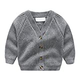 Product review for Tortor 1Bacha Kid Boys' V-Neck Knit Chunky Cardigan Sweater