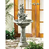 Playful Cherubs Fountain By Little Red Crane