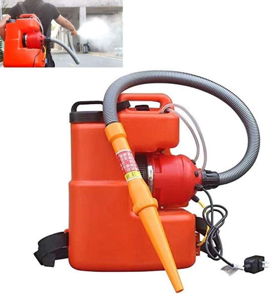AMITD Pulse-Jet Thermal Fogger, batería de 12 V, carga rápida de 1 hora, 30 – 50 m, pulverizador para fertilizantes, soluciones de limpieza suaves y lejía.