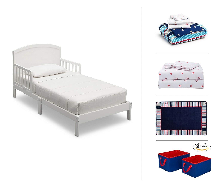 Amazon.com: Delta Children Toddler Bedroom Set, Boys 5-Piece ...