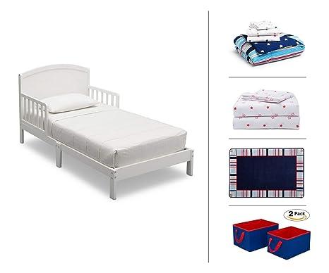 Amazon Com Delta Children Toddler Bedroom Set Boys 5 Piece