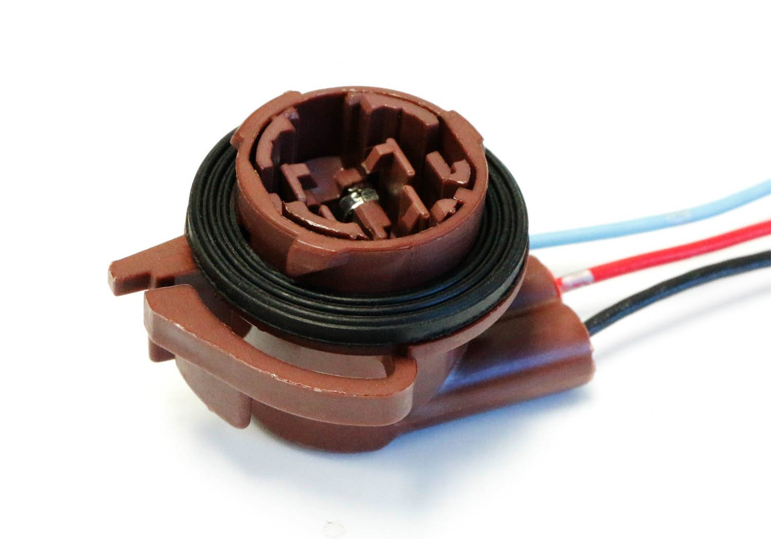 Ijdmtoy 2 3156 3157 Pre Wired Harness Sockets For Wiring Adaptors The Wj Repair Replacement Install Led Bulbs Turn Signal Lights Drl Lamps Or Brake Tail