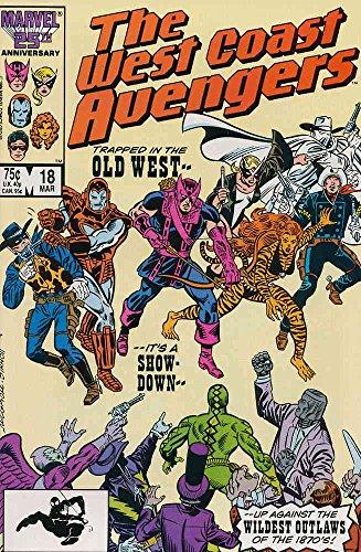 (West Coast Avengers #18 FN ; Marvel comic book)