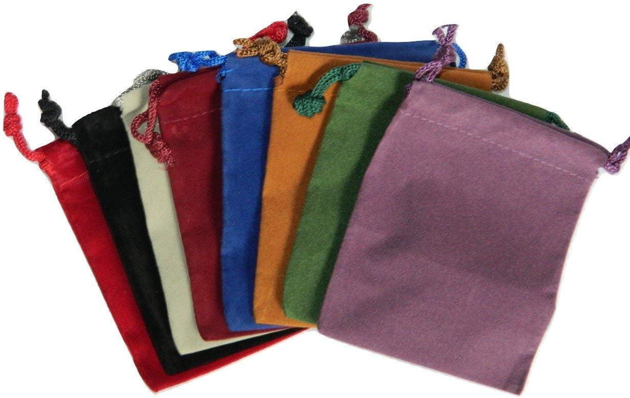 x4 sets D20 DnD Dice Bag | Autumn 100/% handmade /& embroidered pouch