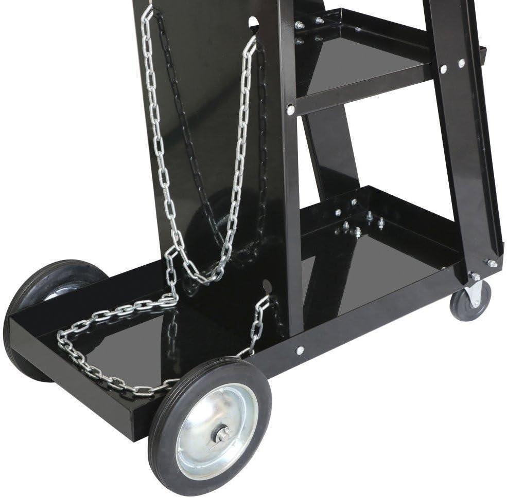 Yaheetech Mobiler Schwei/ßwagen Schwei/ßger/ätewagen f/ür Schwei/ßinverter Werkstattwagen