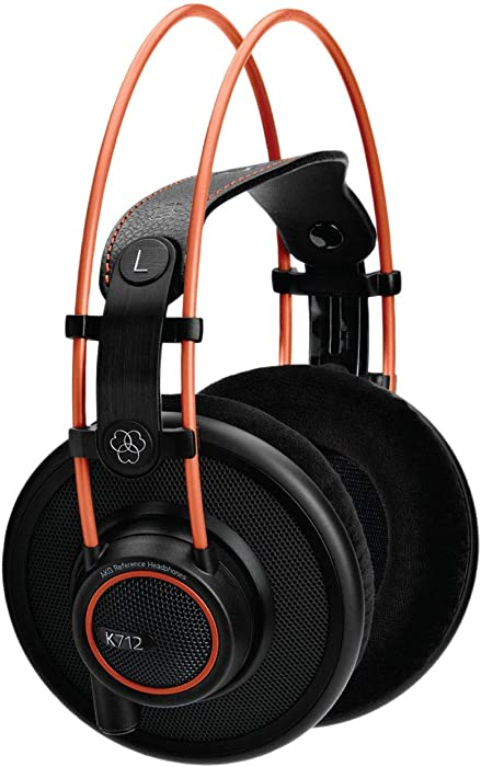 AKG Pro Audio K712 PRO Over-Ear, Open-Back, Flat-Wire, Reference Studio Headphones