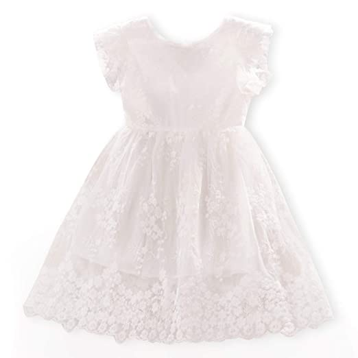 6c3264040d23b TTYAOVO Flower Girls Dresses Toddler Princess Wedding Party Dress
