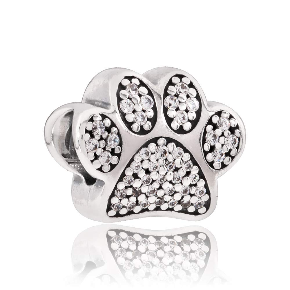 Pandora I Love My Pet Silver Charm 791713CZ