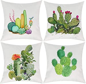 Win A Free Summer Style Cactus Decor Throw Pillow Cover