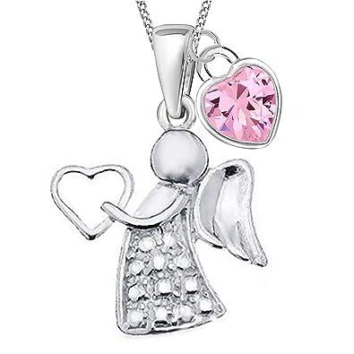 Taufkette Juwelier Kinder Schutz Engel Anhänger mit Kette Silber 925 wählbar Neu