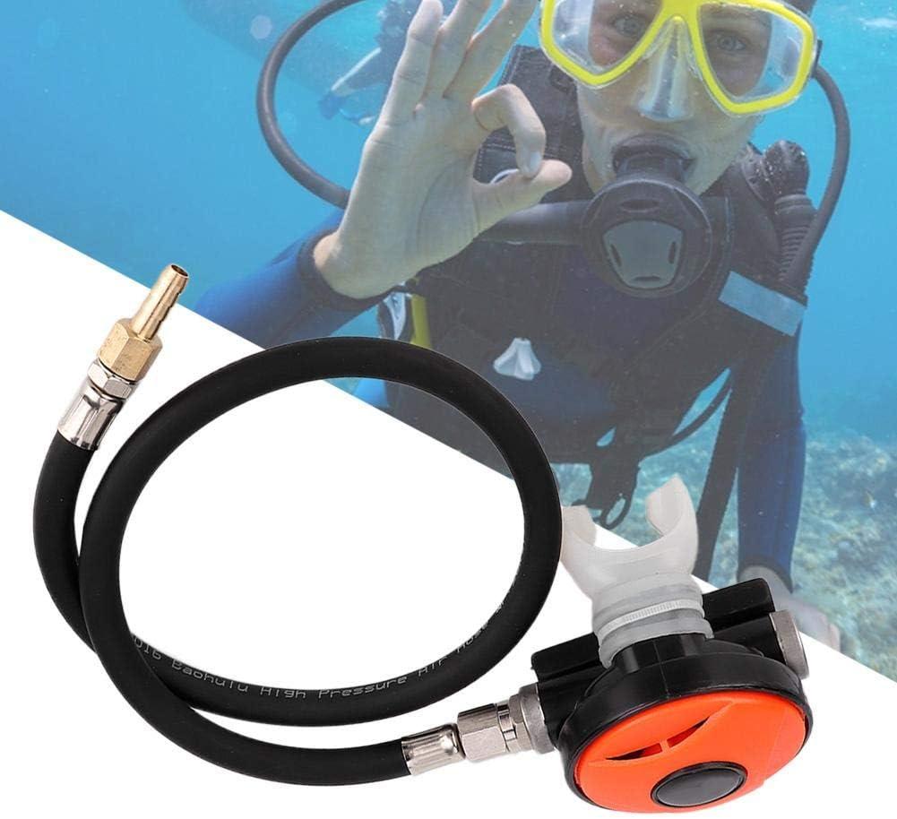 Keenso Scuba Dive Schnorchel 2nd Stage Atemregler Explorer mit Mundst/ück Tauchausr/üstung Divcing Atemregler