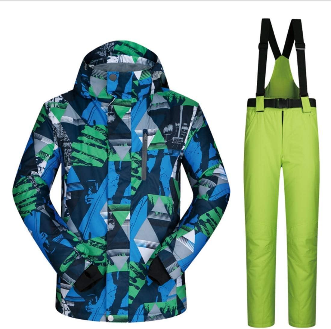 メンズマウンテン防水スキージャケット防風スノースーツ (Color : 01, サイズ : XL)  X-Large