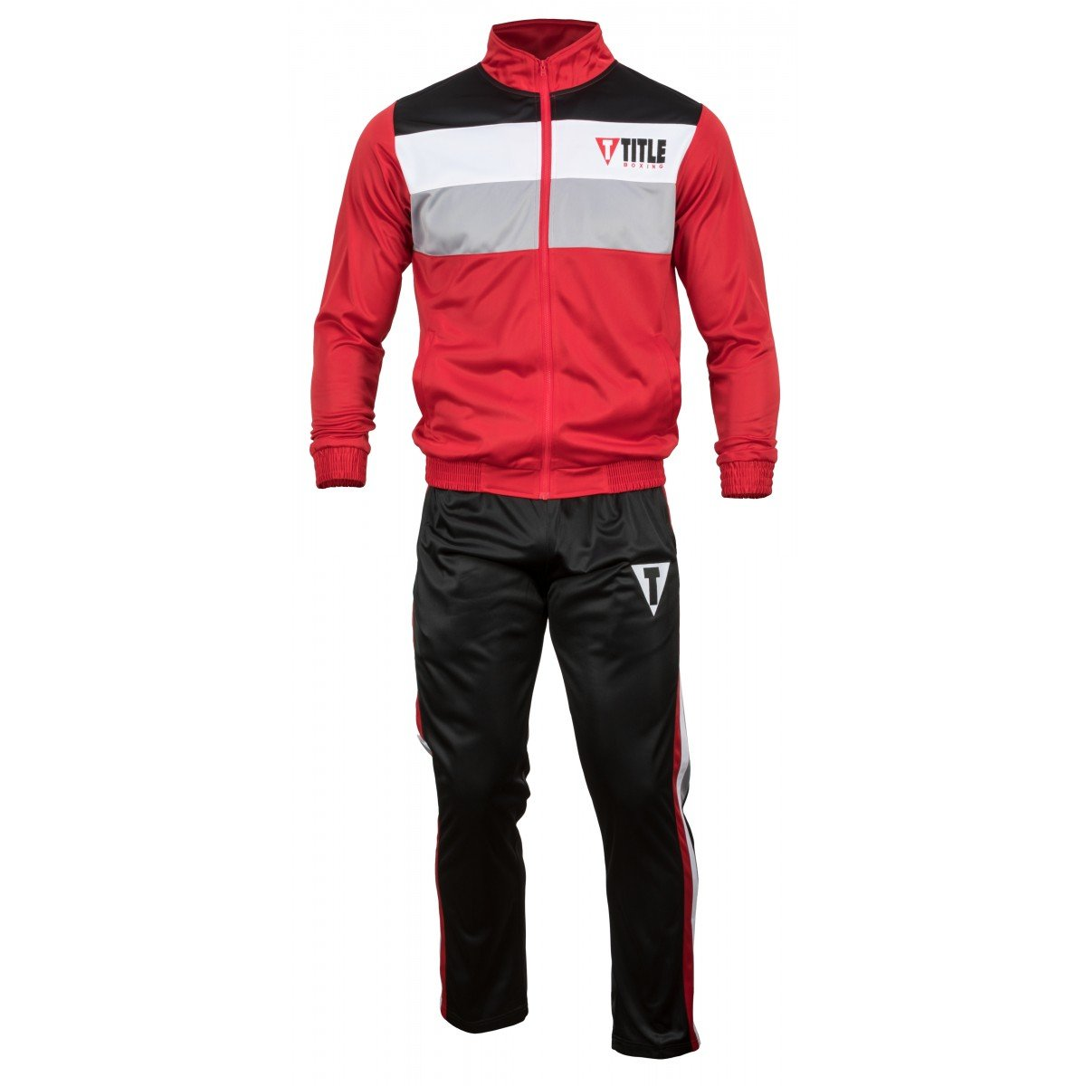 Title Super Poly Pride Warm-Up, Red/Black, Large