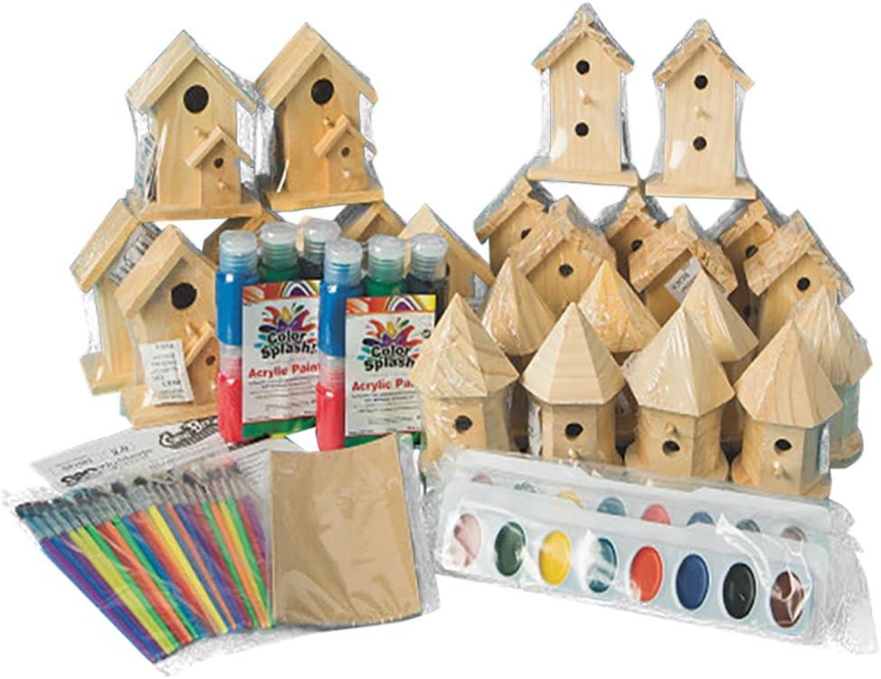 Kit XL Bird House Paint Bird House Bird Villa