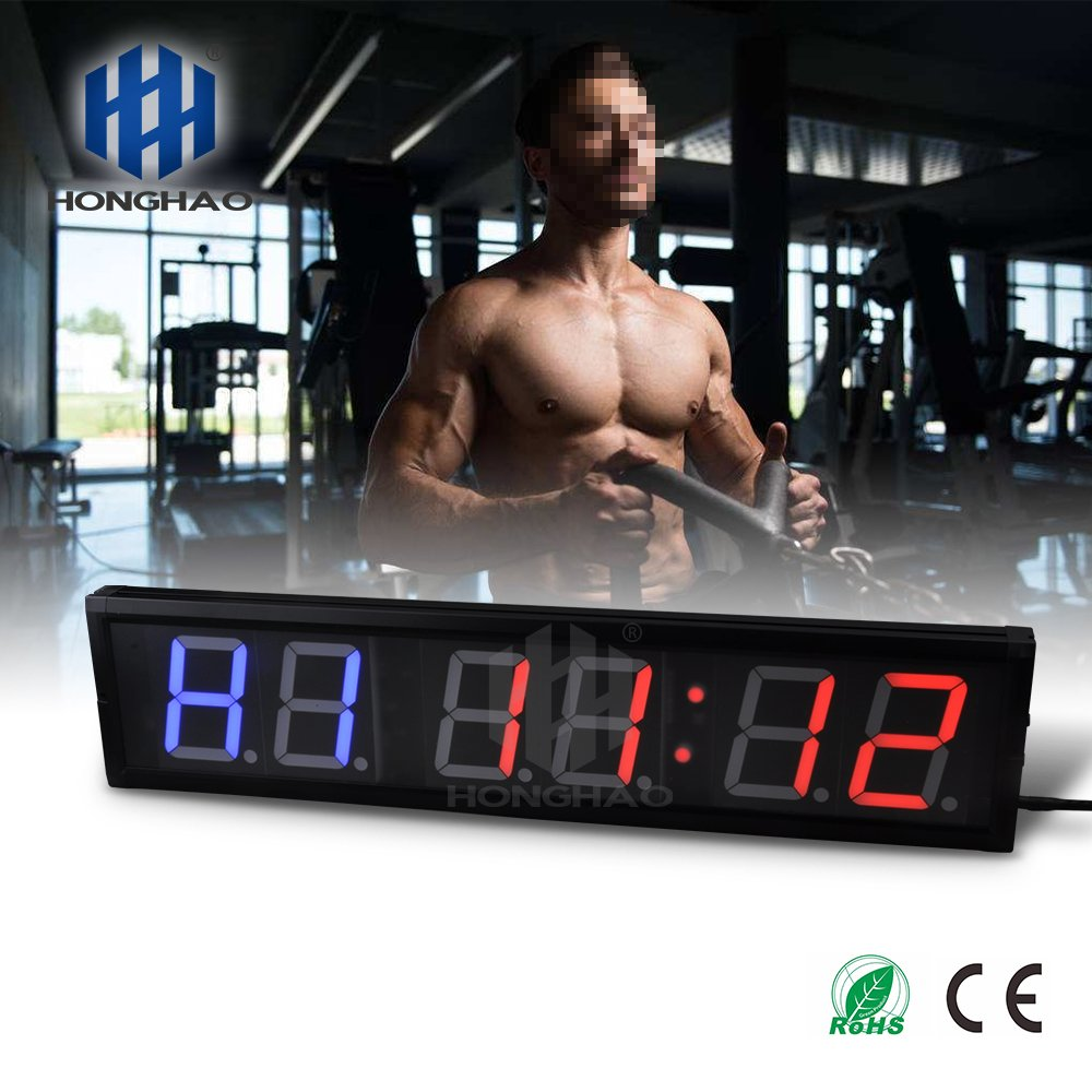 Amazon usa timer programmable crossfit interval wall timer