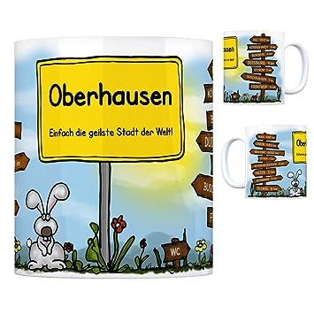 Oberhausen Einfach Die Geilste Stadt Der Welt Kaffeebecher Tasse