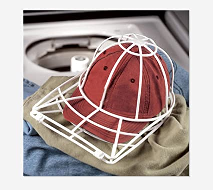eb3f4427d63 Amazon.com  Highpot Cap Washer Baseball Hat Cleaner Cleaning Protector Ball  Cap Washing Frame Cage for Washing Machine  Home   Kitchen