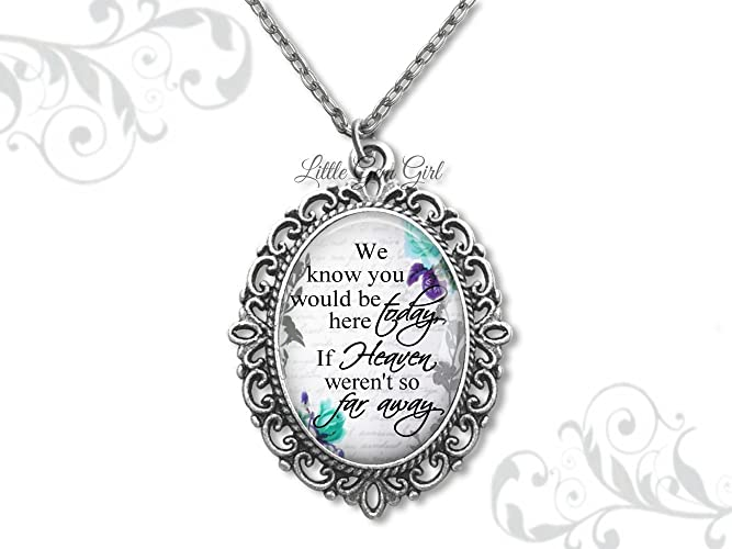 Amazoncom Bridal Bouquet Charm With Heaven Poem Pet Memorial