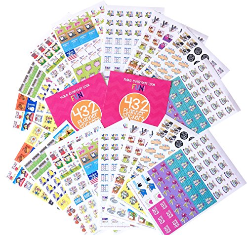864 Planner Stickers Bundle Set Busy Mom Collection for Every Calendar, Planner and Organizer by Denise Albright
